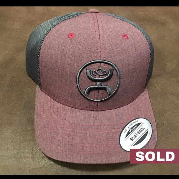 wholesale dealer 54c4c 23bf5 ✨SOLD✨ Hooey Cody Ohl Burgdy Grey Cap